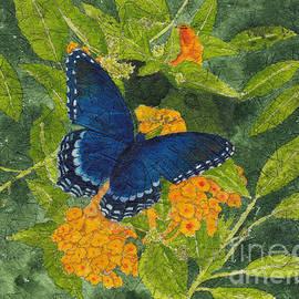 Conni Schaftenaar - Red Spotted Purple Butterfly Batik