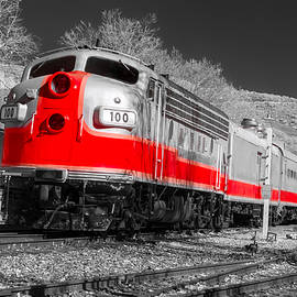 Ken Wolter - Red Streamliner Train