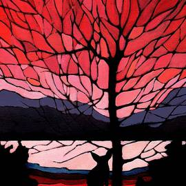Alison Newth - Red Sunset Fox