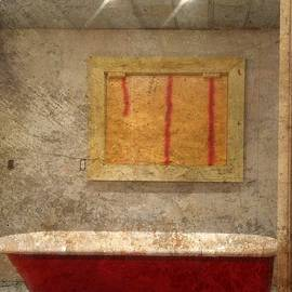 Red Tub 1 by Kathy Barney