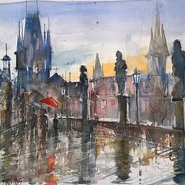 Lorand Sipos - Red umbrella