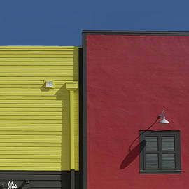Red, Yellow, Black and Blue by Claudia O'Brien