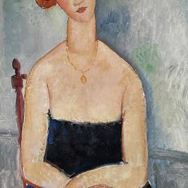 Amedeo Modigliani - Redheaded Girl