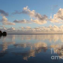 Reflecting Hawaii At Sunrise by John Franke