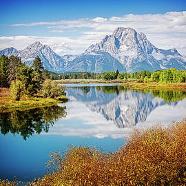 Scott Kemper - Reflecting Mt. Moran
