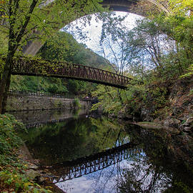 Reflections Along the Wissahickon Creek by Bill Cannon