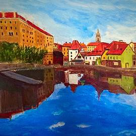 Czech Reflections by Anne Sands