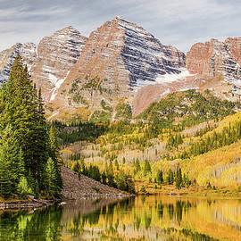 Eric Glaser - Reflections at Maroon Lake