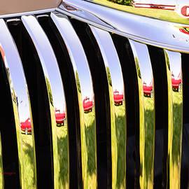 Reflections at the Car Show 4 by Kae Cheatham