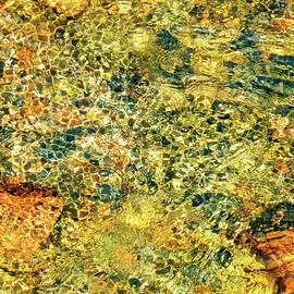 Gerlya Sunshine - Reflections in a mountain stream