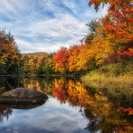 Reflections of Fall by Mark Papke
