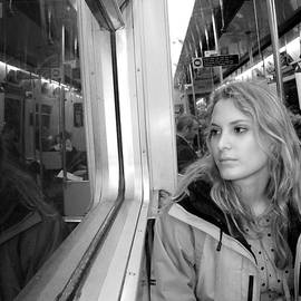 Reflection On A London Train by Madeline Ellis