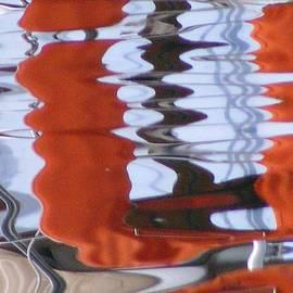 Monique Michel - Reflections on the Lake Leman 1