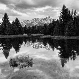 Reflections On The Tetons by Jon Glaser