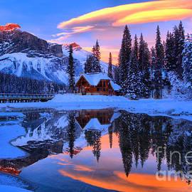 Adam Jewell - Reflections Over Emerald Lake