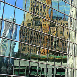 Reflective Chicago by Paula Guttilla