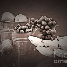 Refreshing Fruit No Color Needed by Sherry Hallemeier