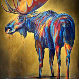 Teshia Art - Regal Moose