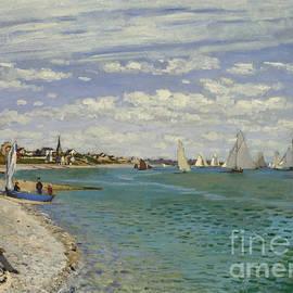 Claude Monet - Regatta at Sainte Adresse, 1867