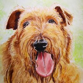 Carol Blackhurst - Reilly, Irish Terrier