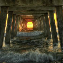 Reid Callaway - Relentless Tybee Island Pier Sunrise Art
