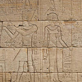 Relief from The Temple of Dendur - Egyptian School