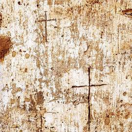 Religious Graffiti On The Wall Of The