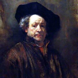 Rembrandt Self Portrait 1660 by Rembrandt