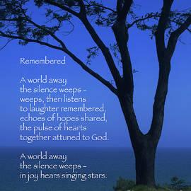 Ann Horn - Remembered