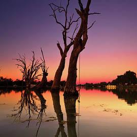 Bill Robinson - Renmark South Australia sunset