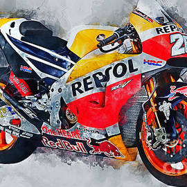 Ian Mitchell - Repsol Honda RC213V