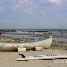 Dora Sofia Caputo Photographic Design and Fine Art - Rescue Boat at Point LookOut