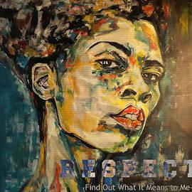 Christel Roelandt - Respect mixed media