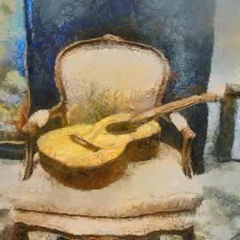 Boghrat Sadeghan - Resting Guitar