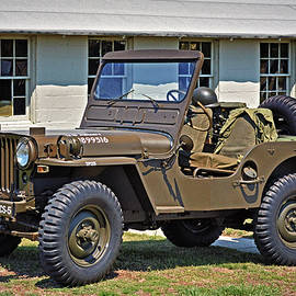 Restored Willys Army Jeep at Fort Miles by Bill Swartwout Photography