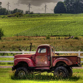Retired Truck by Ray Congrove