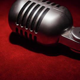 Retro Vintage Microphone 002 by Clayton Bastiani