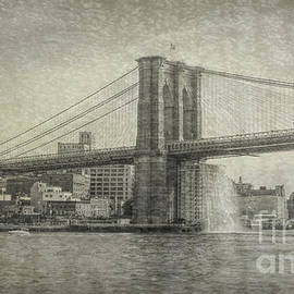 Revisiting Brooklyn Bridge by Luther Fine Art