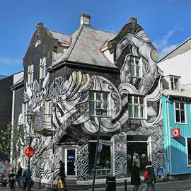 Allen Beatty - Reykjavik Mural # 2