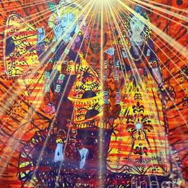 Radah Krishna Illuminated by Michael African Visions