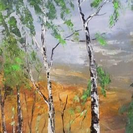 Maria Karalyos - The birches forest
