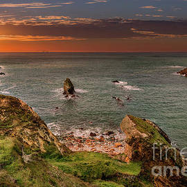 Rhoscolyn Sunset Bay - Adrian Evans