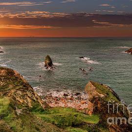 Rhoscolyn Sunset Bay - Adrian Evans