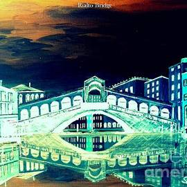 Irving Starr - Rialto Bridge Amber