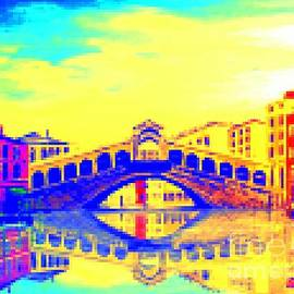 Irving Starr - Rialto Bridge In Pastel