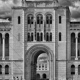 Rice University Entrance by Norman Gabitzsch