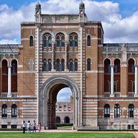 Rice University - Lovett Hall by Norman Gabitzsch