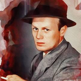 Richard Widmark, Vintage Movie Star - John Springfield