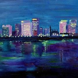 Julie Brugh Riffey - Richmond Skyline