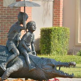 Riding An Alligator by Bradford Martin